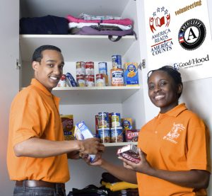 good in the hood | Campus Cupboard Volunteers