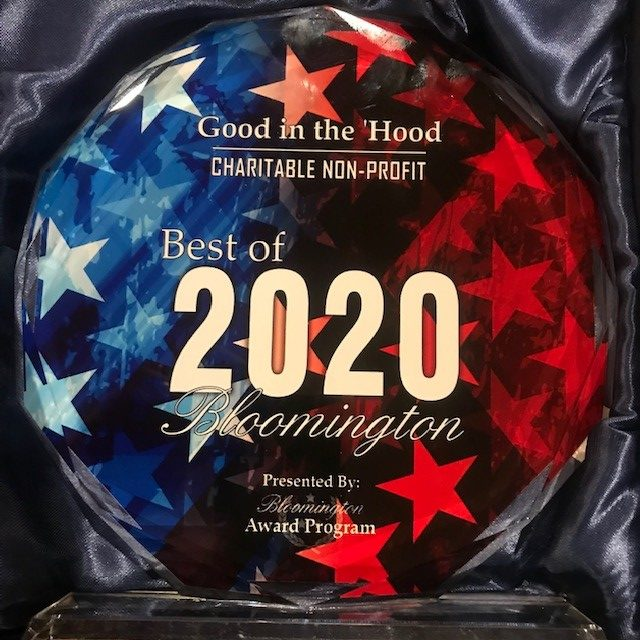 Image of 2020 Best of Bloomington award
